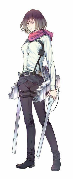 También amo SNK ♡ -  Mikasa Ackerman (Galeria)