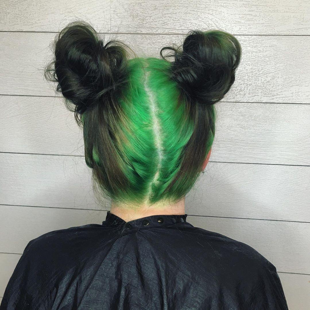 44+ Green space buns ideas
