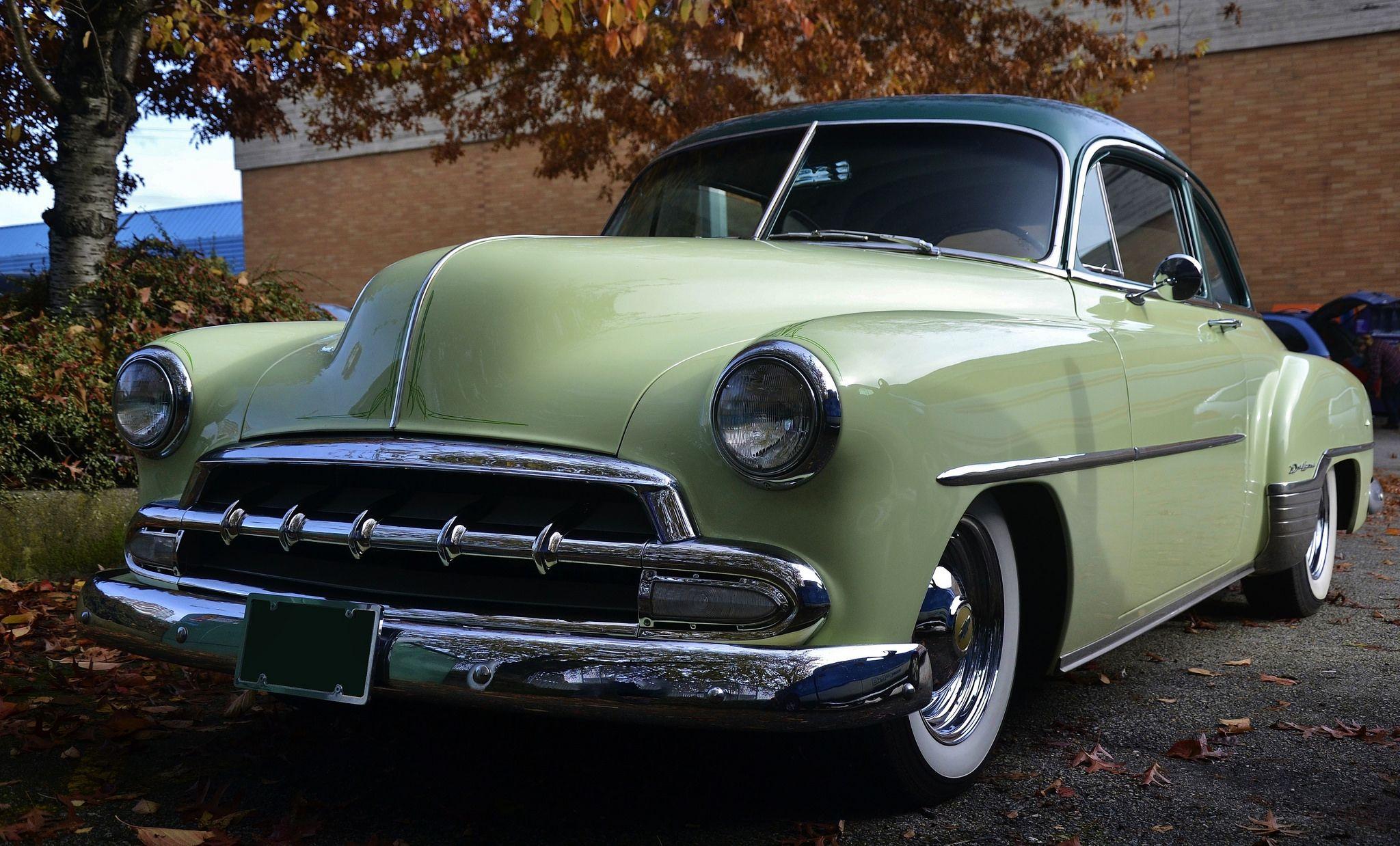 1952 Chevrolet Styleline Deluxe Sport Coupe Chevrolet Sports