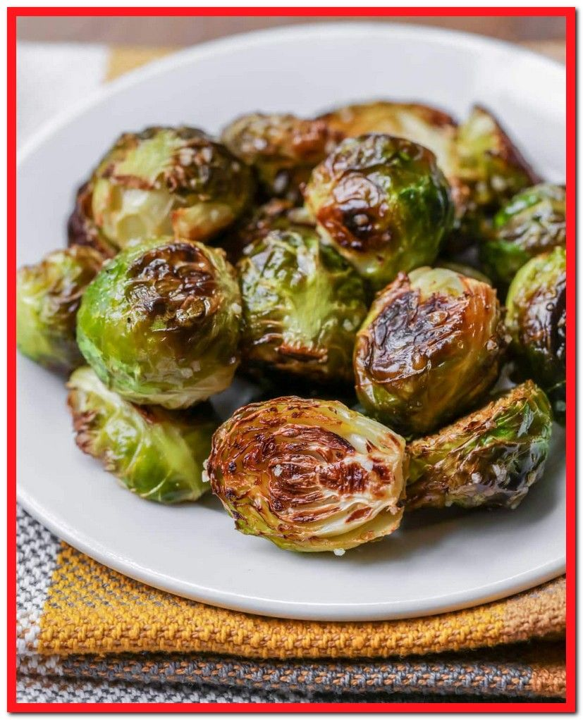 Easy Baked Brussel Sprout Recipe-#easy #baked #brussel