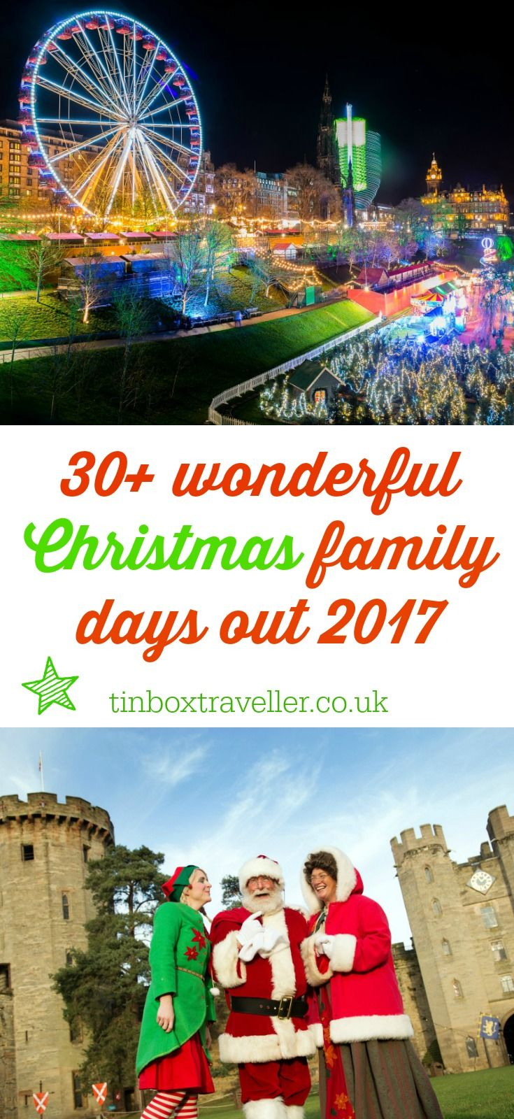Winter inspiration: UK Christmas days out with kids | Christmas ...
