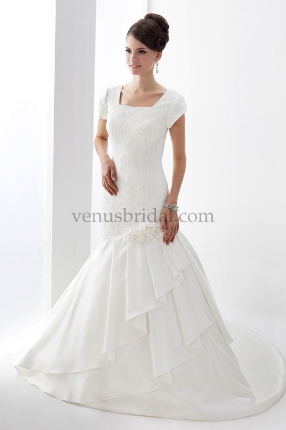 Venus Bridals TB7614 at Tour of Elegance in San Diego, CA   Modest ...