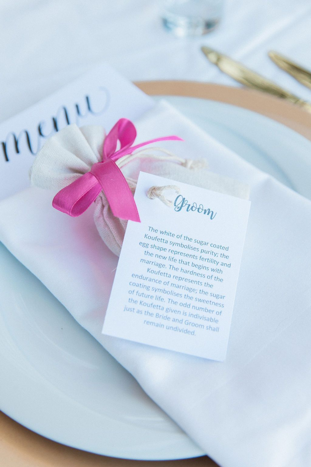 Greek wedding favours, traditional koufeta, sugared almond