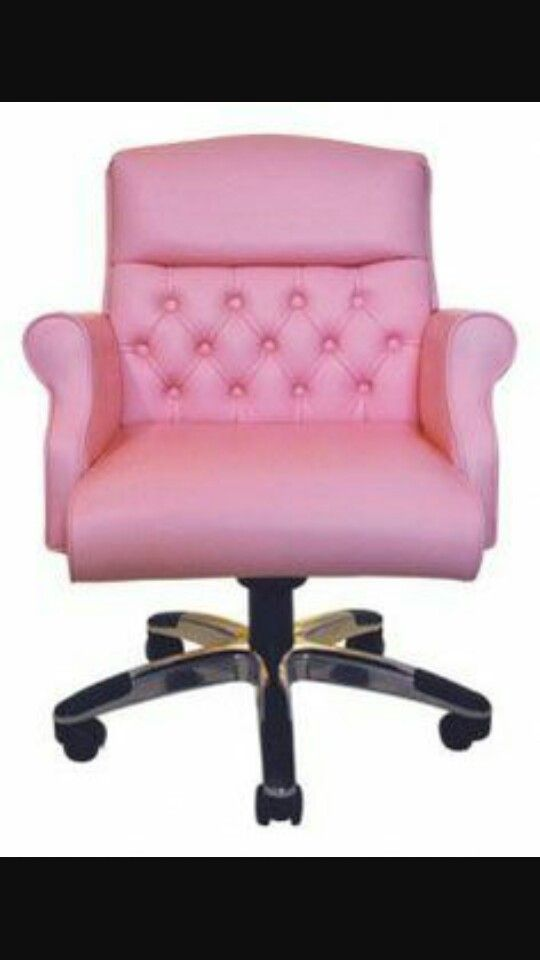 Pink Computer Chair Pink Chair Pink Furniture Pink Office