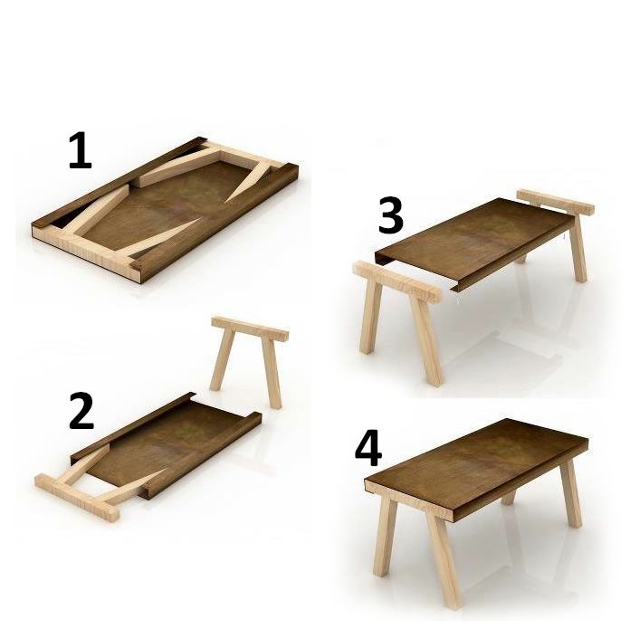 5 For The Table And 6 For The Legs? Make It Small And Itu0026 A Laptop/monitor  Stand.