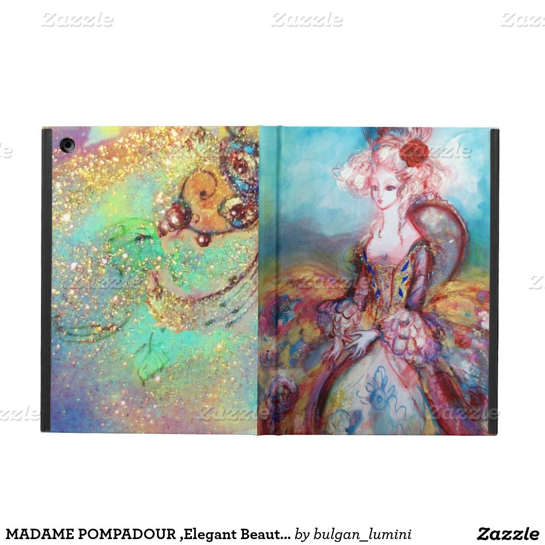MADAME POMPADOUR ,Elegant Beauty Fashion Cover For iPad Air