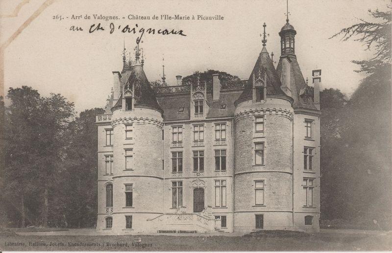 Carte Postale Picauville A Picauvillepicauville Postale