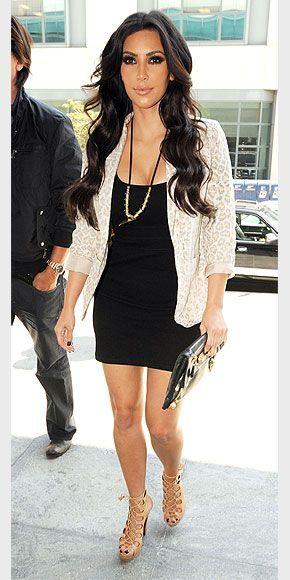 Kim Kardashian Fashion and Style - Kim Kardashian Dress, Clothes, Hairstyle - Page 105