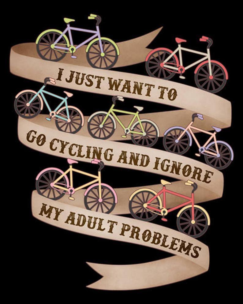 Camisa de ciclismo divertido hombres mujeres regal