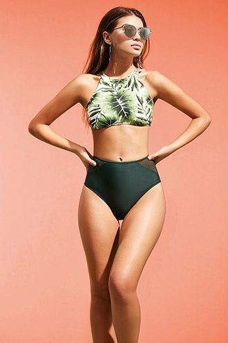 3a63b0b12e82 Bikini Cintura Alta (Parte De Abajo) | surf | Trajes de baño, Ropa ...