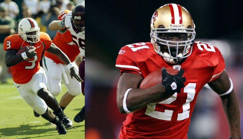 Frank Gore Is The 49ers All Time Rushing Touchdown Leader And Was A