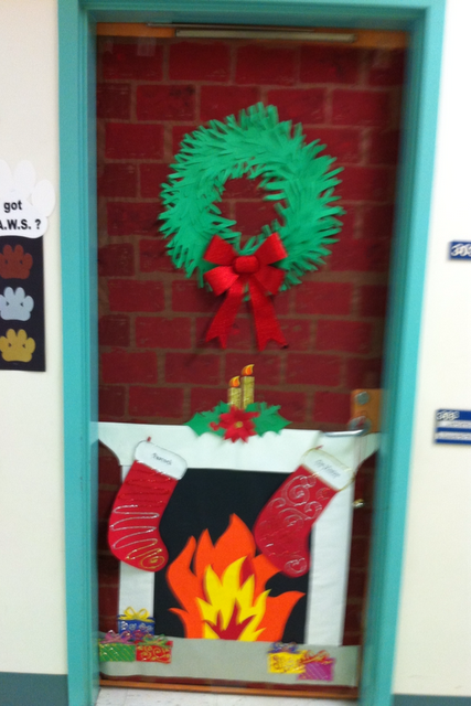 Decorate Door Contest For Christmas Christmas Classroom