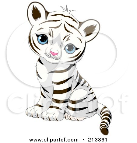 Coloring Pages Of Cute Baby Tigers Google Search Cartoon Tiger
