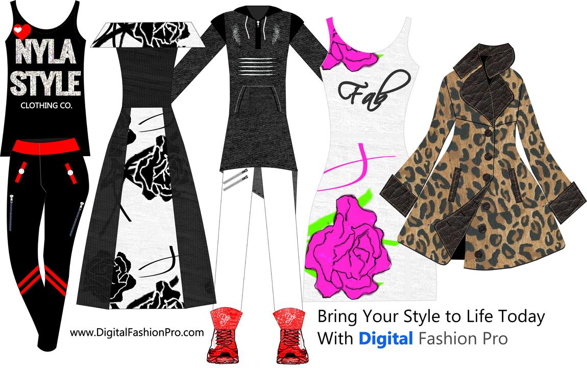 Fashion Design Software Digital Fashion Pro Clothing Design Software Fashion