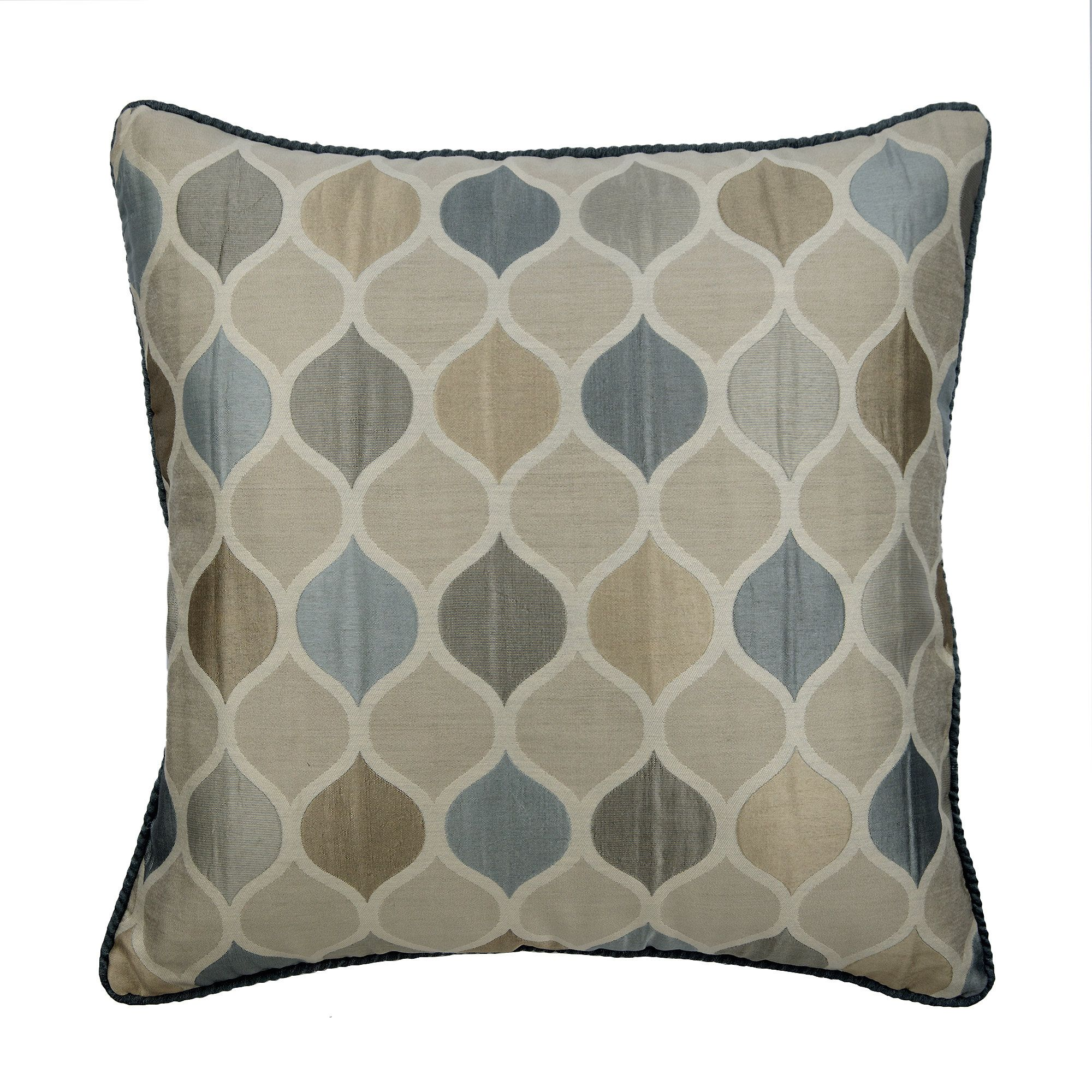 Decorative Pillow Sham Coverss, 24 x 24 Lattice Pillow Sham