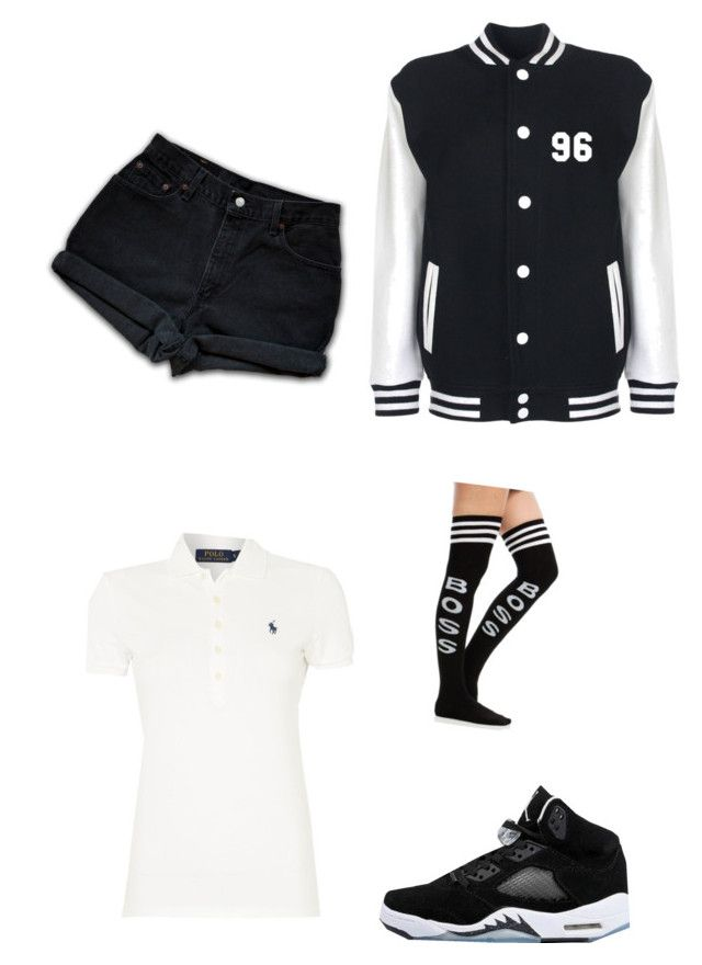 """Untitled #34"" by too-fresh1 ❤ liked on Polyvore featuring Levi's and Polo Ralph Lauren"