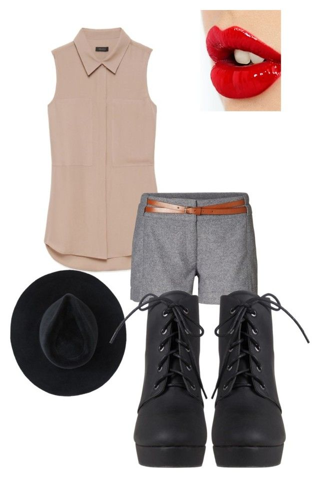 """""""Outfit Choice"""" by jjlexi ❤ liked on Polyvore featuring Theory, Vero Moda, Charlotte Tilbury and Ryan Roche"""
