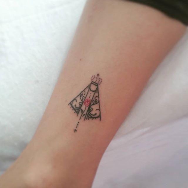 60 Tatuagens De Nossa Senhora Da Aparecida Lindas Tatoo
