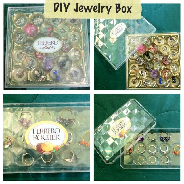 Craft With Laura Diy Simple Jewelry Box Ideas Jewelry Storage