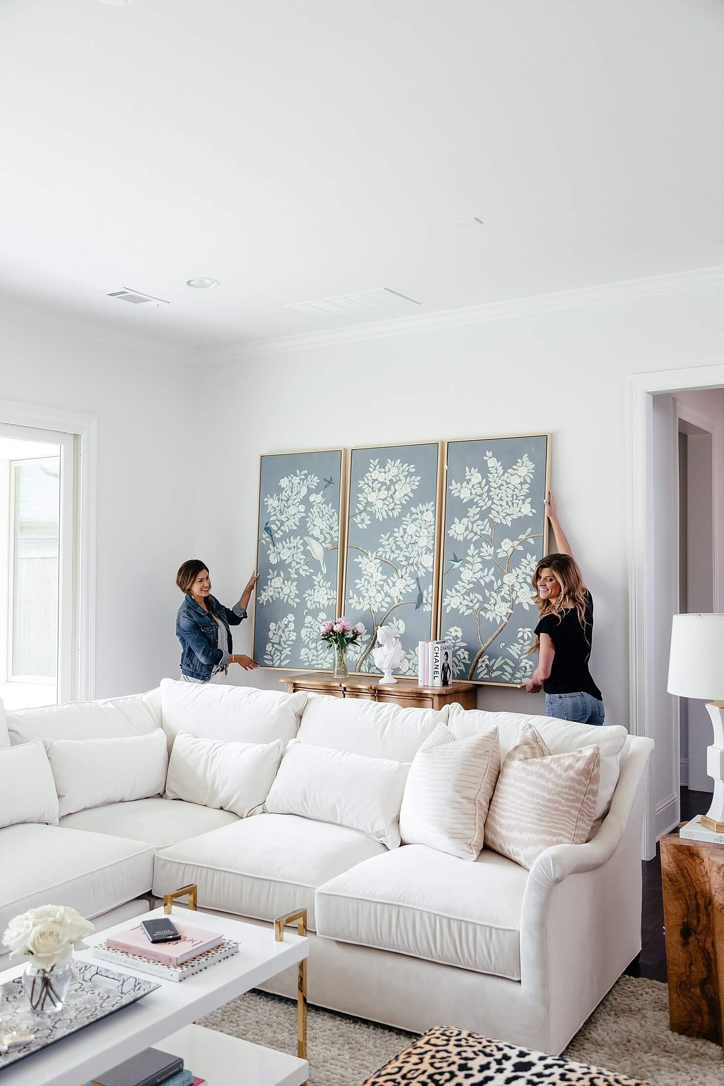 Living Room Update:: The Sectional Is Here | Pinterest | Brighton ...