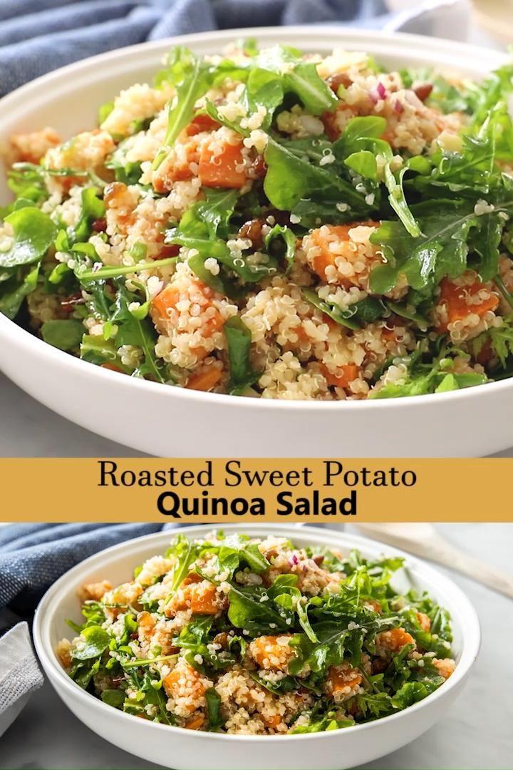 Photo of Roasted Sweet Potato & Quinoa Salad
