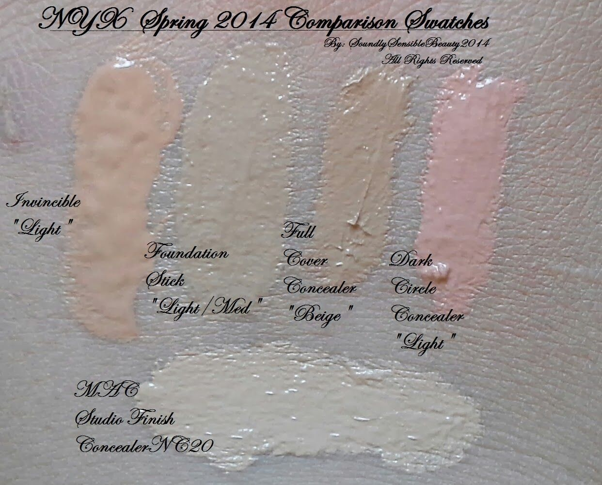 NYX Invincible Fullest Coverage & Mineral Stick