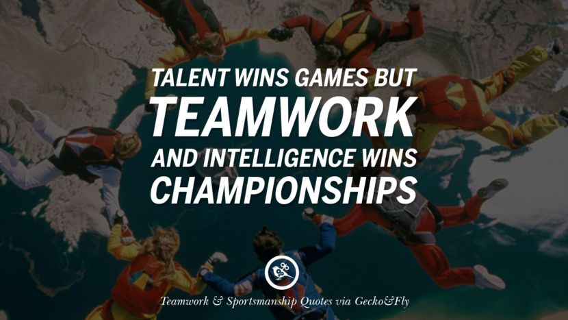 50 Inspirational Quotes About Teamwork And Sportsmanship Golf Quotes Teamwork Quotes Rugby Quotes