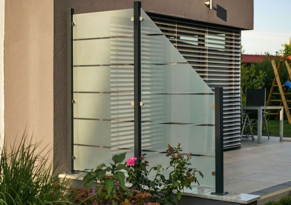 Glaszaun Nach Mass Online Gunstig Kaufen Glass Fence Pergola Designs Outdoor Gardens Design