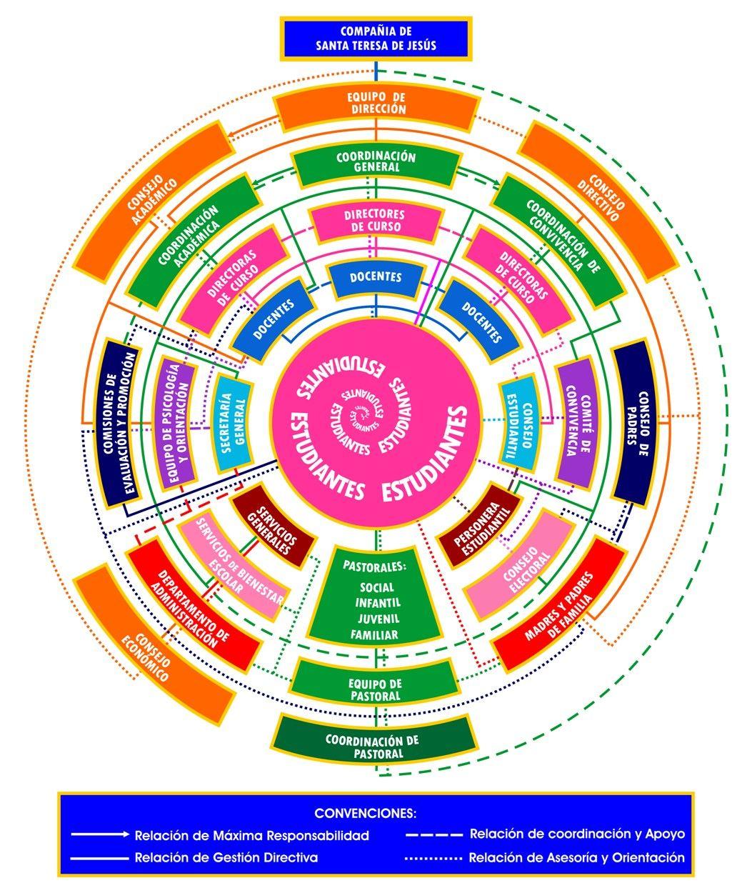 Nancy Olaya Monsalve Organigrama Circular Marketing