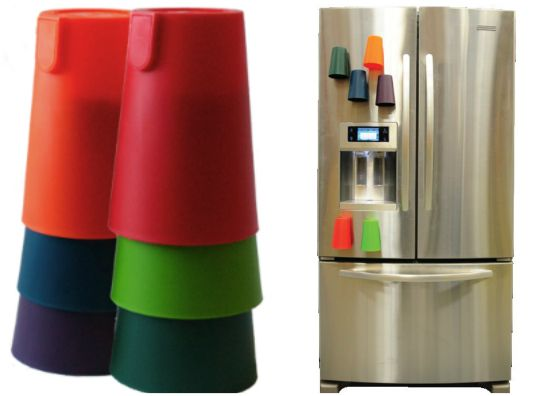 No more washing the same cup over & over in one day! Each person has their own color... genius!