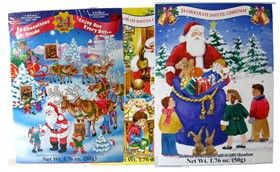Advent Calendar With Chocolate | Advent calendars, Christmas ...