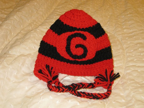 University of Georgia Crocheted Inspired hat (Made to order ... 3c2af8c94