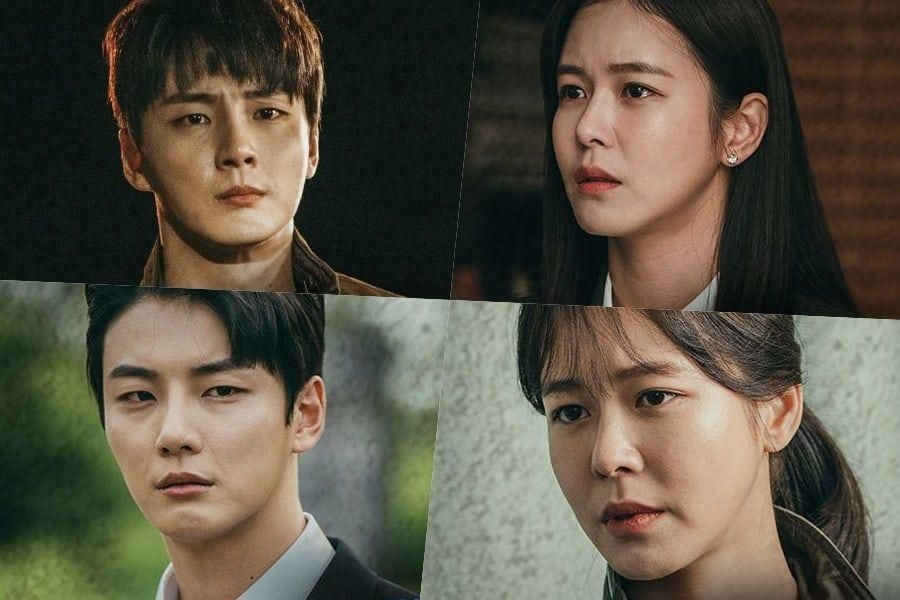 "Yoon Shi Yoon's Upcoming Drama ""Train"" Shares Look At Character Relationships In Parallel Universes"
