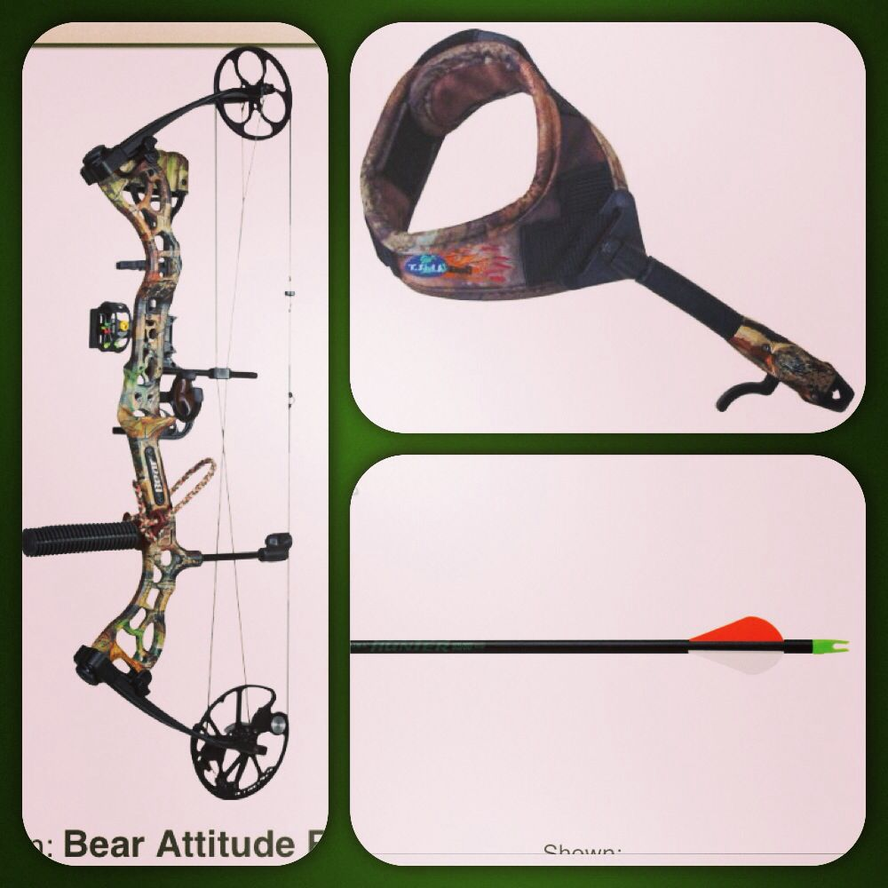 My new Bow Hunting equipment!!