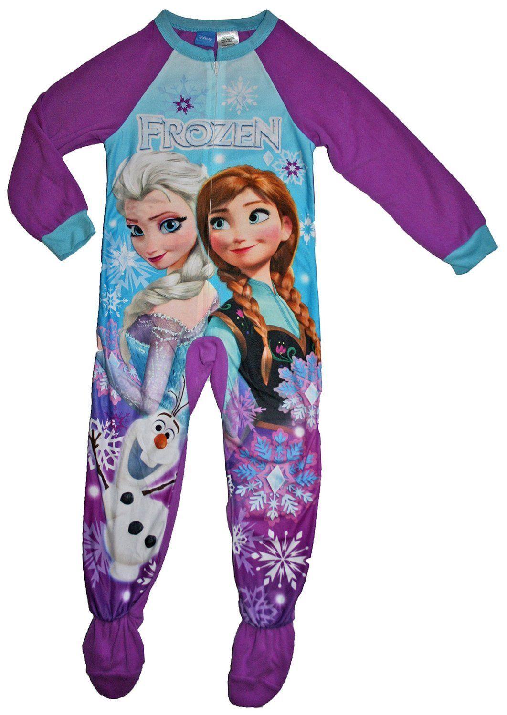 Disney Girls Frozen Elsa Hooded Blanket Sleeper
