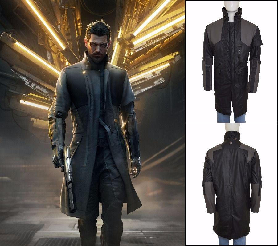 838ce1938d539 Superb Quality Game Adam Jensen Deus Ex Mankind Divided Leather Coat is  here.