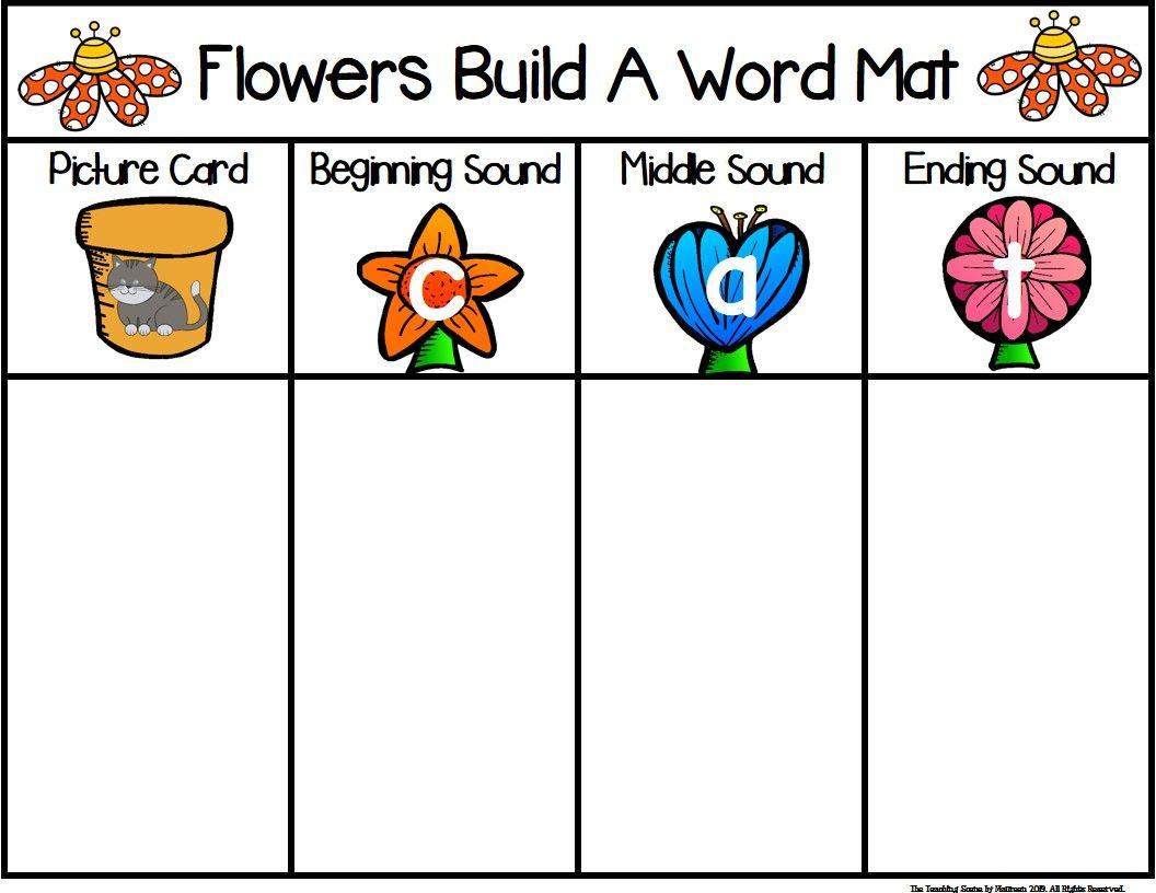Flowers Build A Cvc Word