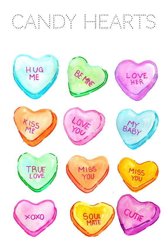 Heart Clipart Valentines Day Clipart Candy Clipart Etsy Valentines Day Clipart Candy Clipart Valentine Clipart
