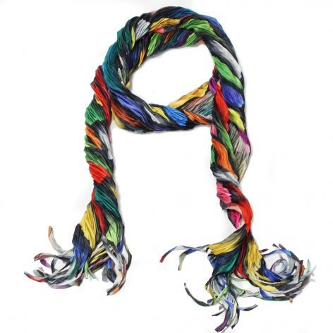Multi-Color Stained Glss Scarf (c) Yasyuki Machida in Japan