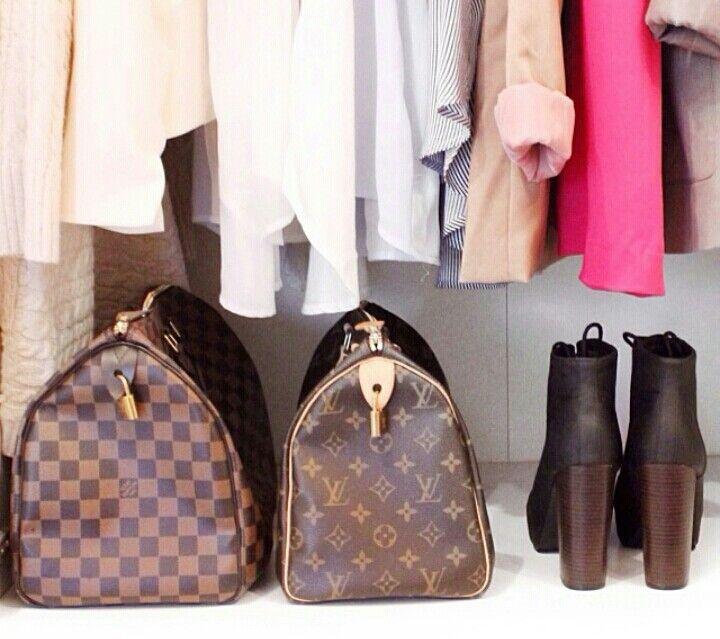 Louis Vuitton Neverfull Damier Or Monogram