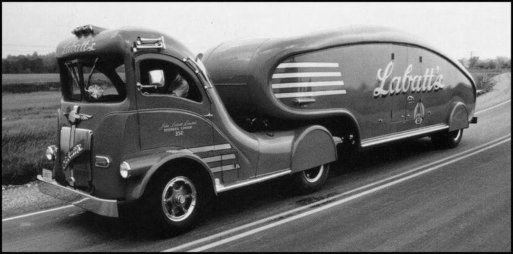 Labatt S Art Deco Truck Old Trucks Vehicles Lifted