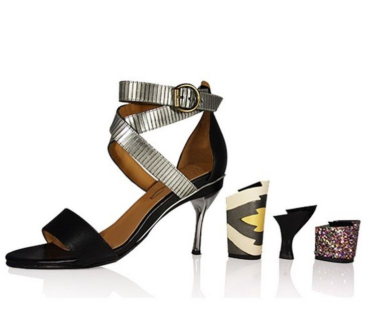 f4563b97d5f Adjustable shoes with removable heels for women who don t want to suffer to  be beautiful from innovative fashion designer Tanya Heath