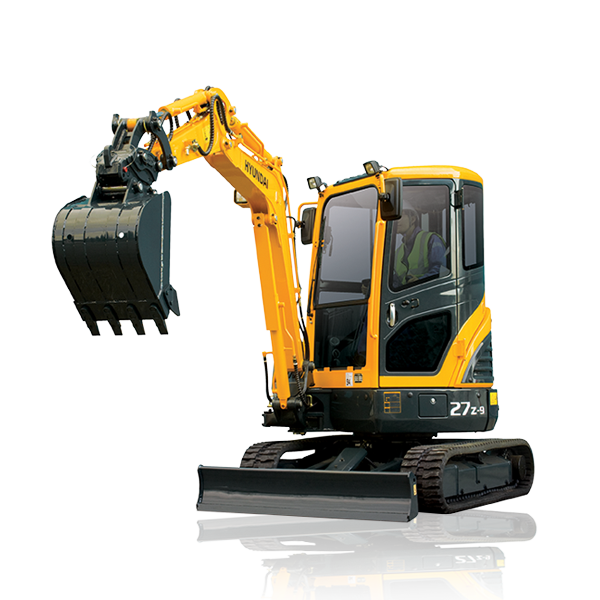 Excavator Png Image Mini Excavator Hyundai Construction Equipment
