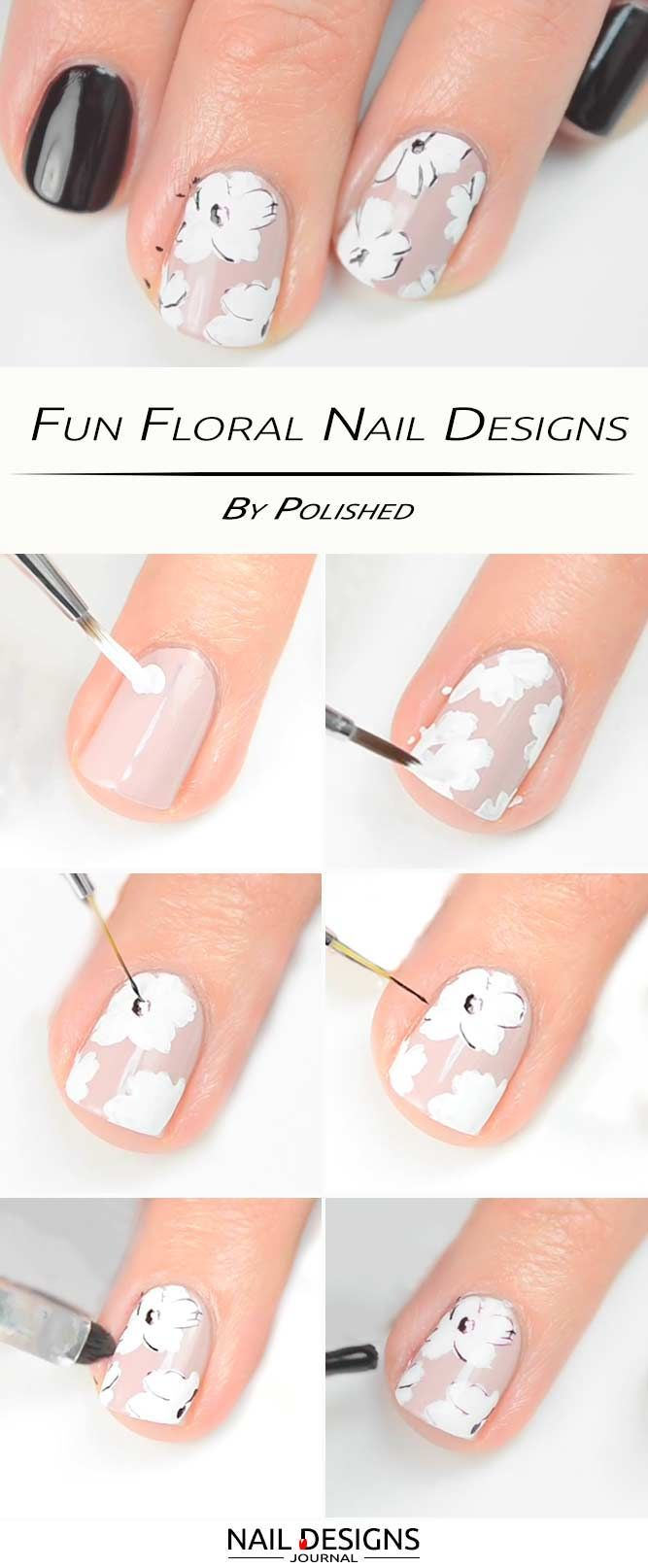 Fun Nail Designs That Are Easy To Do At Home