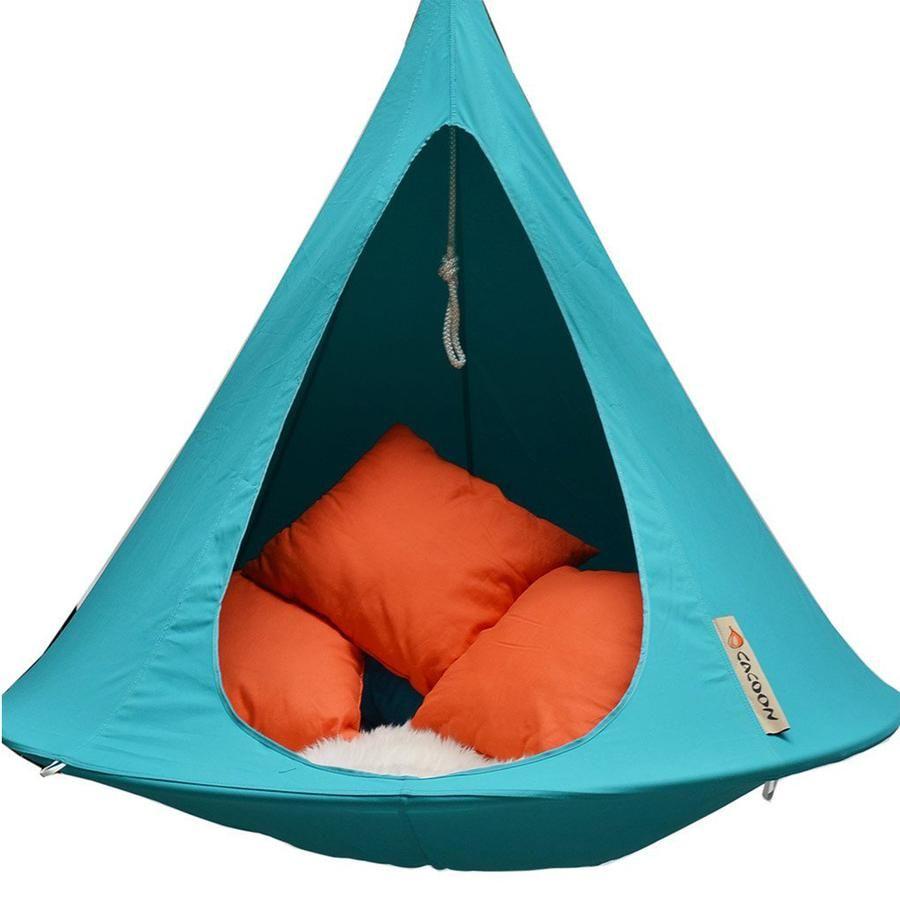 Photo of Kids Nest Hammock Swing Tree Tent: White