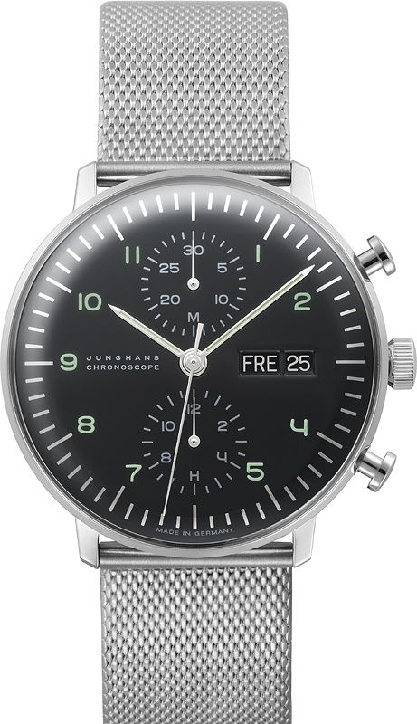 Max Bill 44 0274500 Chronoscope In 2019 Junghans Herrenchronograph UpGqSzMV