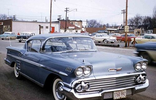 1958 Chevrolet Impala Old Classic Cars Classic Cars Chevrolet