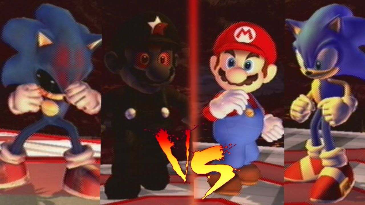Sonic EXE and Mario EXE VS Mario and Sonic | video games