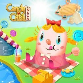 Candy Crush Saga Tops Farmville 2 as Most Popular Facebook