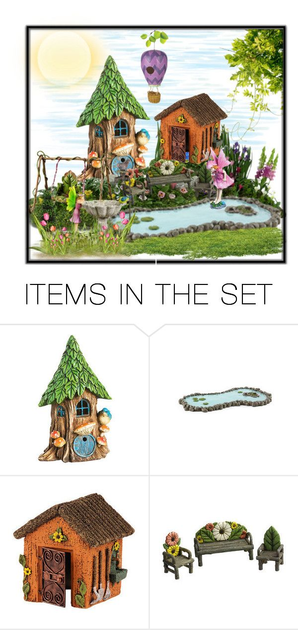 """Little Fairy World"" by terry-tlc ❤ liked on Polyvore featuring art, artset, polyvoreeditorial and artexpression"